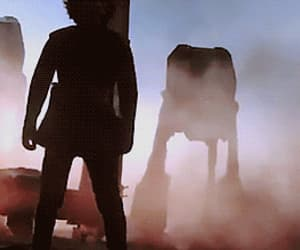 gif, the last jedi, and lightsaber image