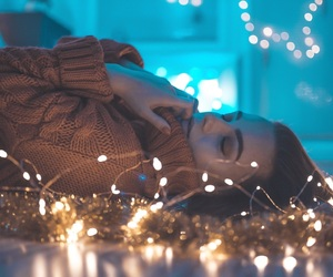 autumn, bokeh, and christmas image