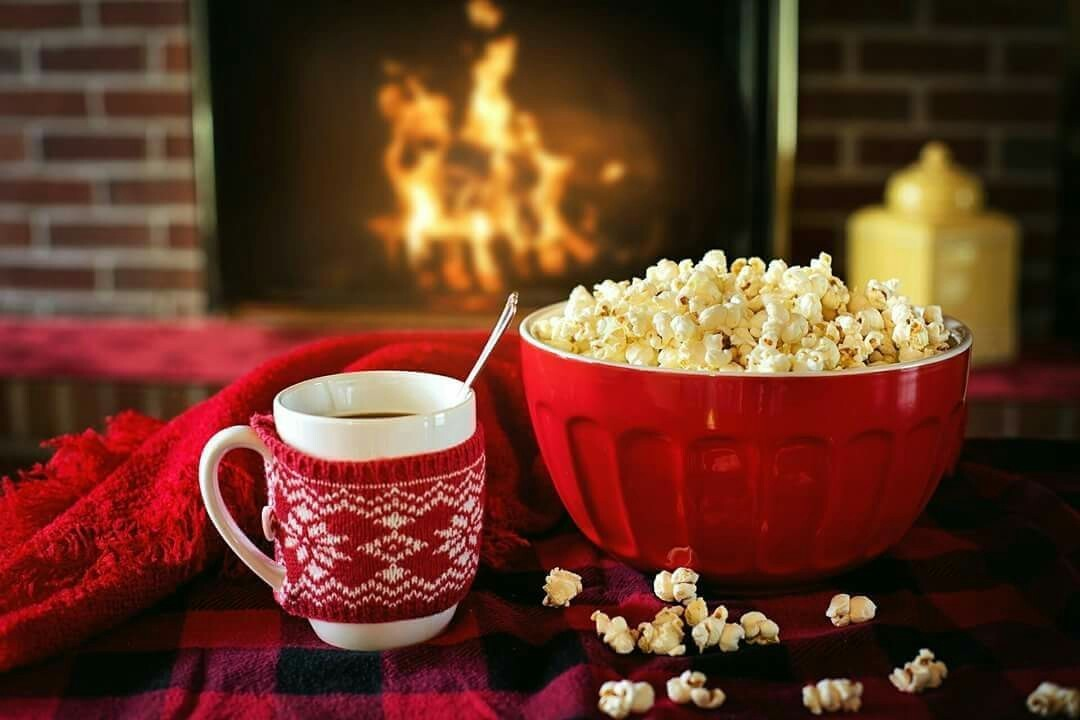 coffee, christmas, and cozy image