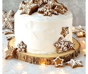 cake, christmas, and decor image