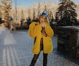 aesthetic, cold, and yellow image