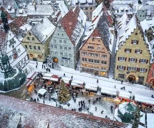 bavaria, christmas, and city image