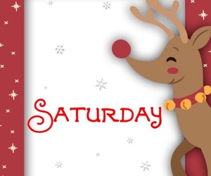 christmas, saturday, and weekend image