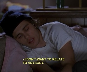 james franco, quotes, and freaks and geeks image