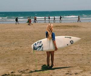 blonde, goals, and surf image