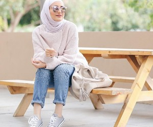 hijab fashion and hijab girls image