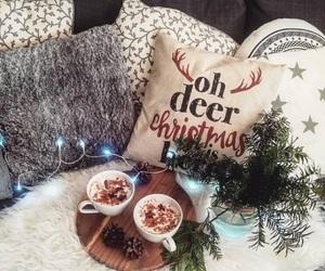 christmas, lights, and room image