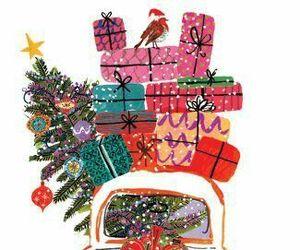 christmas and illustration image