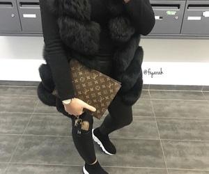 Balenciaga, Louis Vuitton, and ootd tenue image