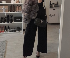 louboutin heels, outfit clothes, and ootd tenue image