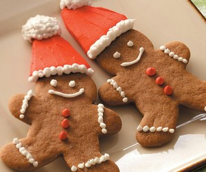 christmas and gingerbread image