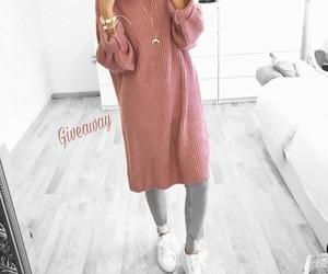 hijab, grey, and gris image