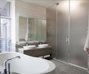 apartment, bathroom, and interior design image
