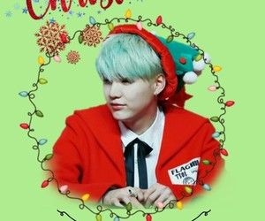 asian boy, jin, and merry christmas image