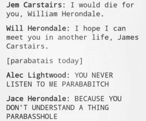 funny, the mortal instruments, and shadowhunters image