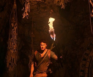 playstation, videogame, and uncharted image