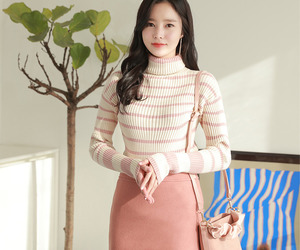 asian fashion, knit, and fiona image