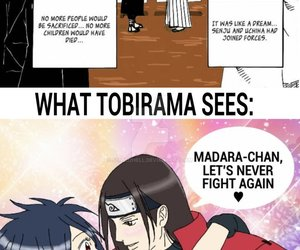 anime, funny, and tobirama image