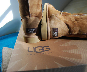 ugg, brown, and shoes image