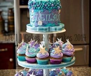 cake and mermaid image