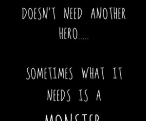 quotes, monster, and world image
