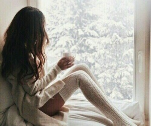 cozy, sweater, and winter wonderland image