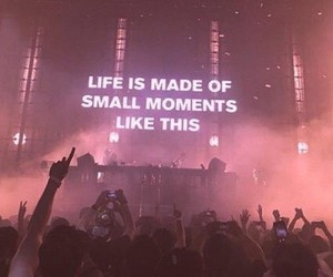 life, moment, and concert image