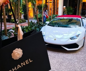 chanel, car, and luxury image