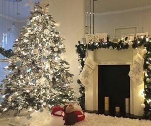 christmas, holiday, and tree image