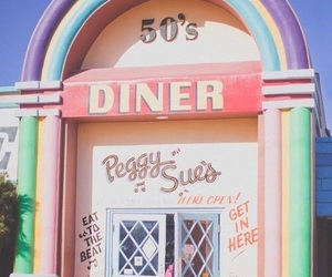 50s, vintage, and pastel image