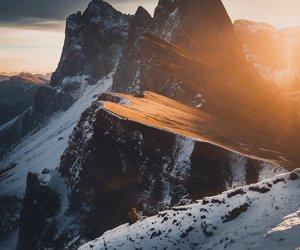 italy, mountains, and nature image