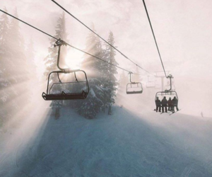 Skiing, snow, and snowboarding image