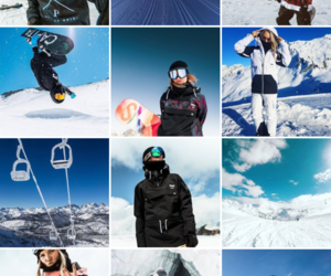 dope, Skiing, and snow image