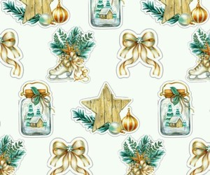 background, gold, and christmas backgrounds image