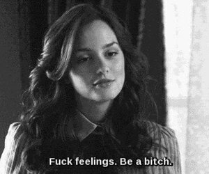 black and white, blair waldorf, and quote image