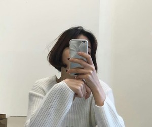 aesthetic, ulzzang, and white image