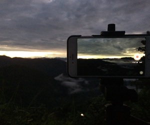 cold, nature, and sunrise image