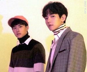 Chen, lq, and sehun image