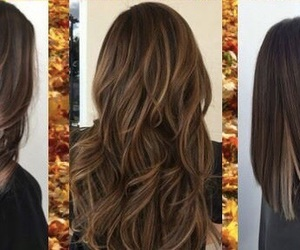 hair, luces, and cabello image