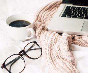 coffee, glasses, and cozy image