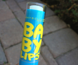 blue, baby lips, and cute image