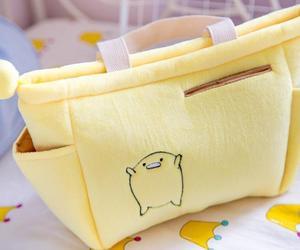 pastel yellow, gudetama, and lazy egg image