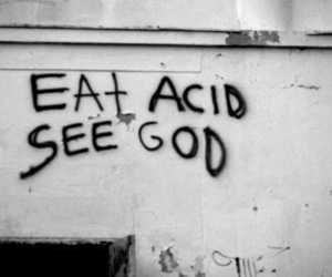 acid, aesthetic, and edgy image