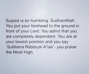 humble, prayer, and الله image
