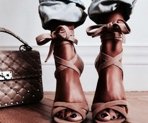 bag, gucci, and shoes image