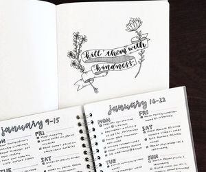 beautiful, bujo, and inspiration image