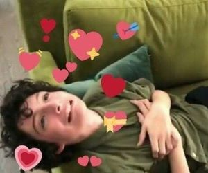 reaction, meme, and finn wolfhard image