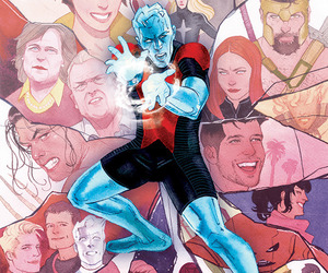 covers, Iceman, and Marvel image