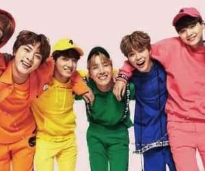 colors, j hope, and jin image