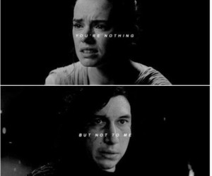 star wars and reylo image